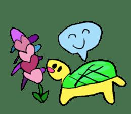 Infield turtle(EN) sticker #5084142