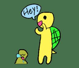 Infield turtle(EN) sticker #5084143