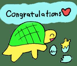 Infield turtle(EN) sticker #5084144