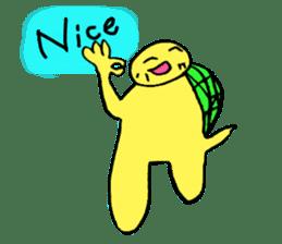 Infield turtle(EN) sticker #5084151