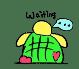 Infield turtle(EN) sticker #5084155