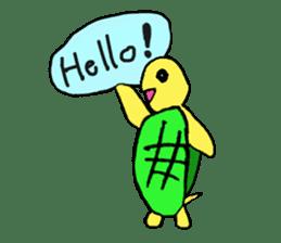 Infield turtle(EN) sticker #5084170