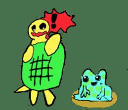 Infield turtle(EN) sticker #5084174