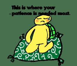 Infield turtle(EN) sticker #5084177