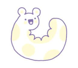 Dreamy Pastel Ghosts sticker #5084480