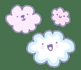 Dreamy Pastel Ghosts sticker #5084496