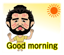 Wild Lifestyles of the Jomon People sticker #5088398