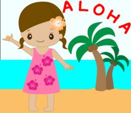 I LOVE HAWAII sticker #5096558