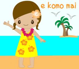 I LOVE HAWAII sticker #5096559