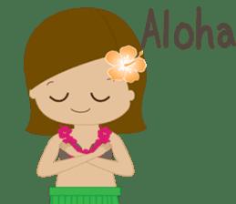 I LOVE HAWAII sticker #5096561