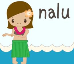 I LOVE HAWAII sticker #5096564