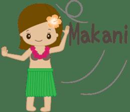 I LOVE HAWAII sticker #5096566