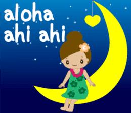 I LOVE HAWAII sticker #5096571