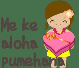 I LOVE HAWAII sticker #5096573