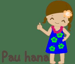 I LOVE HAWAII sticker #5096576