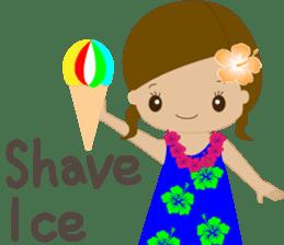 I LOVE HAWAII sticker #5096579
