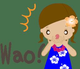 I LOVE HAWAII sticker #5096582