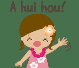 I LOVE HAWAII sticker #5096584