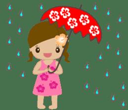 I LOVE HAWAII sticker #5096589