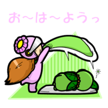 En - kun & Yukari-chan sticker sticker #5097918