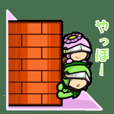 En - kun & Yukari-chan sticker sticker #5097920