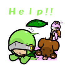En - kun & Yukari-chan sticker sticker #5097937