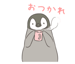 Emperor Penguin Chicks sticker #5103999