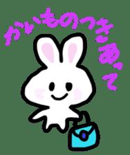 Pan-chan and Usa-pin sticker #5107619