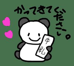 Pan-chan and Usa-pin sticker #5107635