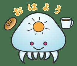 Jellyfish republic sticker #5108128