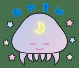 Jellyfish republic sticker #5108129