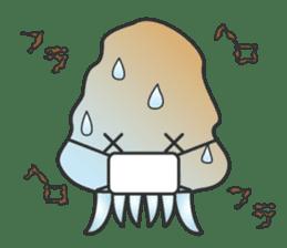 Jellyfish republic sticker #5108136