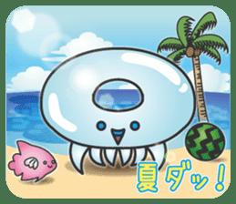 Jellyfish republic sticker #5108143