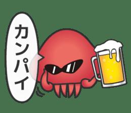 Jellyfish republic sticker #5108162