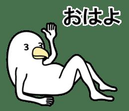 A white bird 2 sticker #5108212
