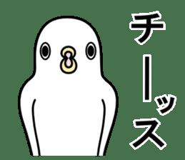 A white bird 2 sticker #5108236