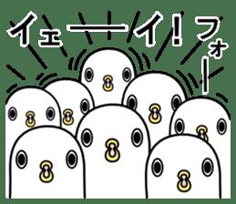 A white bird 2 sticker #5108245