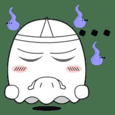 Cute Ghost-U sticker #5109467