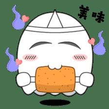 Cute Ghost-U sticker #5109480