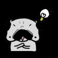 pug sticker6