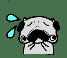 pug sticker6 sticker #5114079