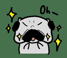 pug sticker6 sticker #5114084