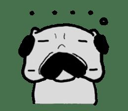 pug sticker6 sticker #5114086