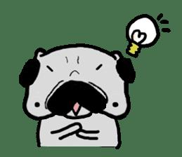 pug sticker6 sticker #5114087