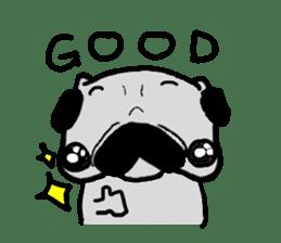 pug sticker6 sticker #5114089