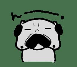 pug sticker6 sticker #5114093