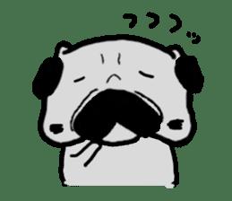 pug sticker6 sticker #5114098
