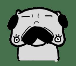 pug sticker6 sticker #5114102