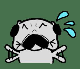pug sticker6 sticker #5114105
