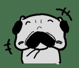 pug sticker6 sticker #5114108